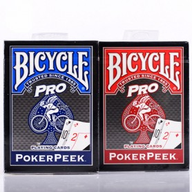 Bicycle Pro poker peek texas hold'em