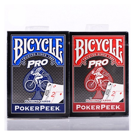 Bicycle Pro poker peek texas hold'em