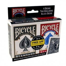 Bicycle value pack 4 pz.