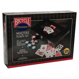 Bicycle Master poker set ufficiale