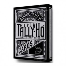Tally-Ho black Viper fan back