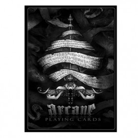 Arcane Black Playing cards