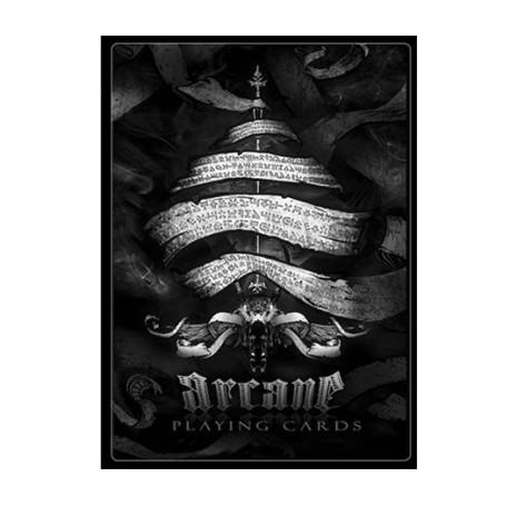 Arcane Black Playing cards