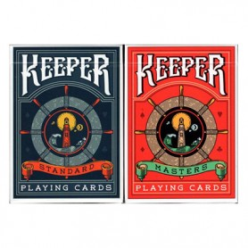 Keeper playing cards pack: Red keeper + blue keeper - SPEDIZIONE GRATIS!