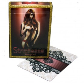 Striptease Playing cards