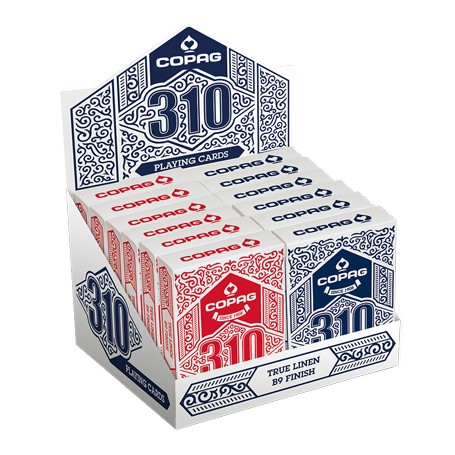 Copag 310 Poker Display misto - 12 pz.