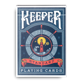 Keeper blu Playing cards