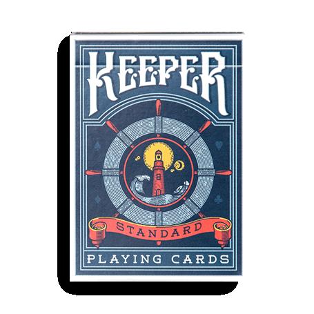 Keeper blu Playing cards