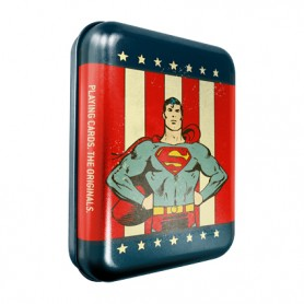 Cartamundi Superman Tin Box Playing Cards