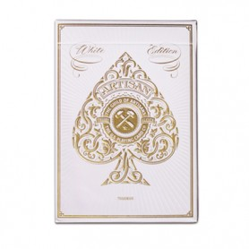 Artisan White Playing Cards