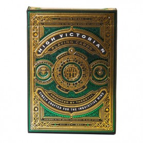 High Victorian Green Playing Cards