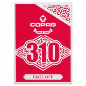 Copag 310 Slimline Faceoff Red