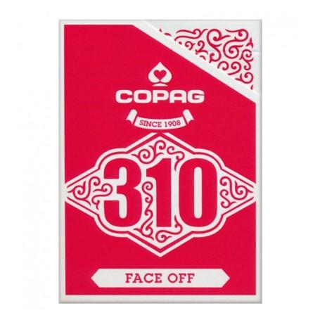 Copag 310 Slimline Faceoff Red