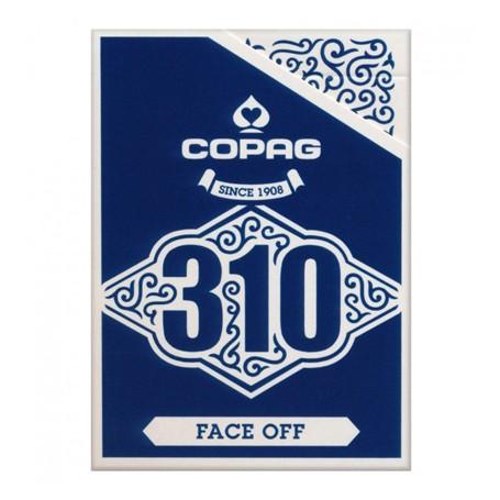 Copag 310 Slimline Faceoff Blue