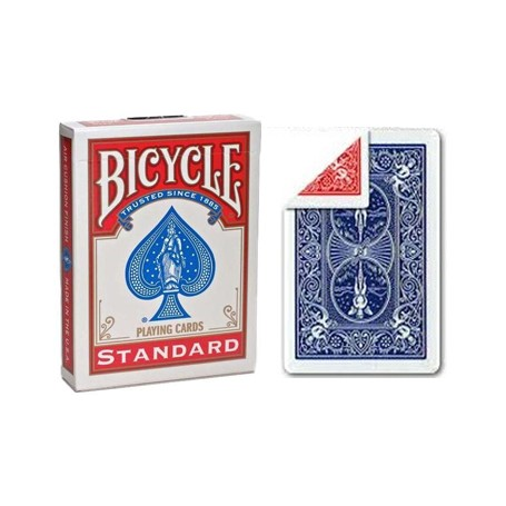 Bicycle Gaff doppio dorso rosso/blu