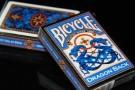 Bicycle Blue Dragon back