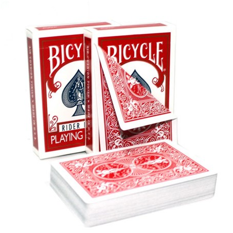 Bicycle Gaff doppio dorso rosso