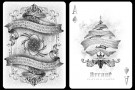 Arcane White Playing cards