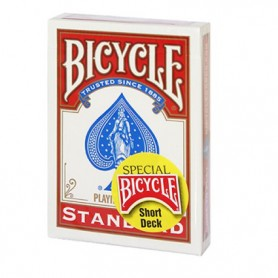 Bicycle short deck red
