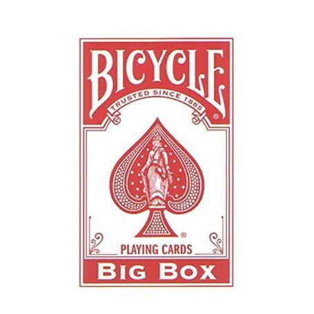 Bicycle Big box red XXL