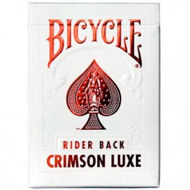 Bicycle Metal lux rossa