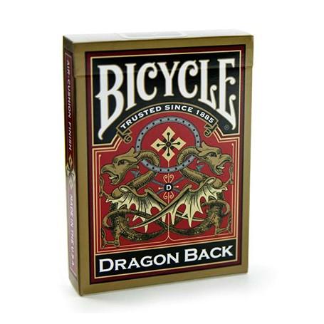 Bicycle Gold Dragon back