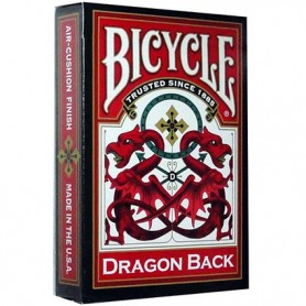 Bicycle Red Dragon back