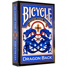 Bicycle Blue Dragon back