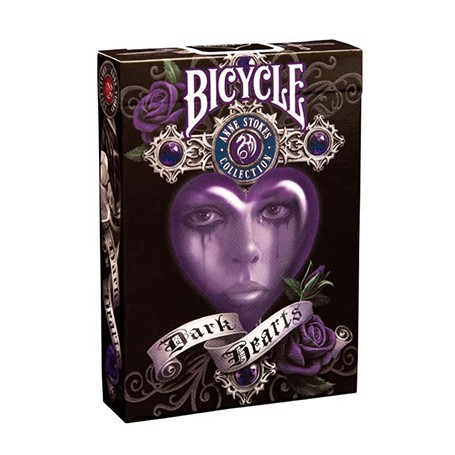 Bicycle Anne Stokes Dark Hearts