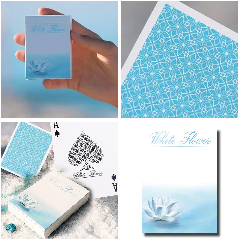 withe flower_carte da poker personalizzate