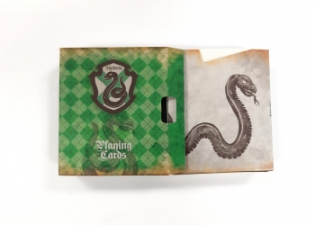 Harry Potter Slytherin Playing Cards: le carte di Serpeverde